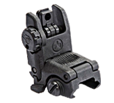 Magpul Gen 2 Rear MBUS Back Up Iron Sight - BLACK