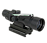 Trijicon ACOG 3x30 Green Horseshoe 223 556 Ballistic Reticle w/ TA51 Mount (TA33G-H)