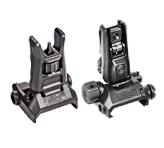 Magpul MBUS PRO LR AR15 BUIS Flip-Up Front & Rear Long Range Sights - Combo Sets