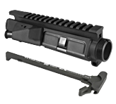 Vltor MUR-1A Upper Receiver with Forward Assist + BCM Mod 4 Charging Handle Combo - Black